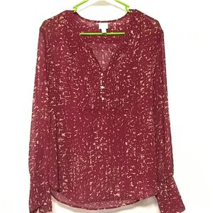 Converse One Star XL Long Sleeve Blouse
